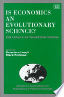 Is Economics an Evolutionary Science?