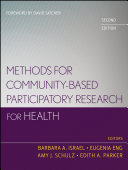 Methods for Community Based Participatory Research for Health
