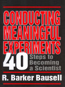 Conducting Meaningful Experiments Pdf/ePub eBook