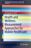 Pdf Health and Wellness Measurement Approaches for Mobile Healthcare Telecharger