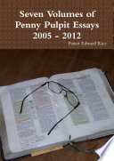 Seven Volumes Of Penny Pulpit Essays