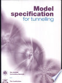 Model Specification For Tunnelling Book PDF