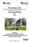 ICGR 2020 3rd International Conference on Gender Research