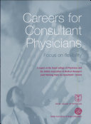 Careers for Consultant Physicians