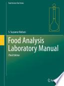 Food Analysis Laboratory Manual