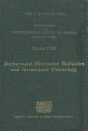 Background Microwave Radiation and Intracluster Cosmology
