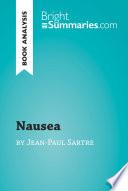 Nausea by Jean Paul Sartre  Book Analysis