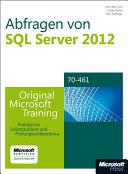 Abfragen von Microsoft SQL Server 2012 - Original Microsoft Training ...