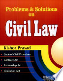 Problems Solutions On Civil Law