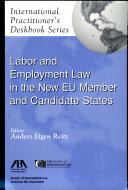 Pdf Labor and Employment Law in the New EU Member and Candidate States