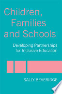 Children  Families and Schools Book