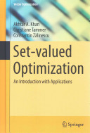 Cover image of Set-valued optimization : an introduction with applications