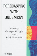 Forecasting with Judgment