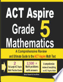 ACT Aspire Grade 5 Mathematics