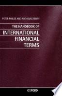 The Handbook of International Financial Terms Book