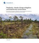 Peatlands, climate change mitigation and biodiversity conservation [Pdf/ePub] eBook