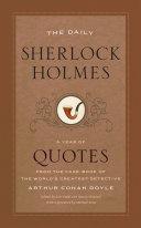 The Daily Sherlock Holmes