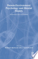Person Environment Psychology and Mental Health