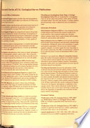 U S  Geological Survey Bulletin
