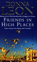 Friends in High Places Donna Leon Cover