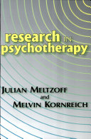 Research in Psychotherapy ebook