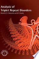 Analysis of Triplet Repeat Disorders