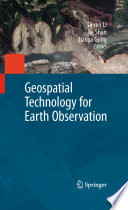 Geospatial Technology for Earth Observation Book