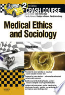 Crash Course Medical Ethics and Sociology Updated Edition   E Book