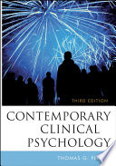 """Contemporary Clinical Psychology"" by Thomas G. Plante"