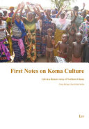 First Notes on Koma Culture