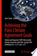 Achieving the Paris Climate Agreement Goals Book