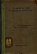 Record Of The Proceedings Of The Annual Meeting