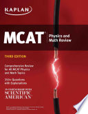 MCAT Physics and Math Review Book