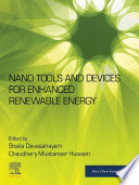Nano Tools and Devices for Enhanced Renewable Energy Book