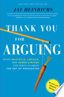 Thank You For Arguing Revised And Updated Edition