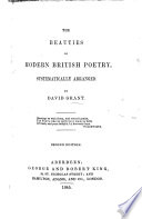 The Beauties of Modern British Poetry, Systematically Arranged. Second Edition