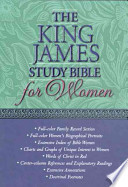 The King James Study Bible for Women