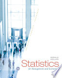 """Statistics for Management and Economics"" by Gerald Keller"