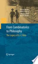 From Combinatorics to Philosophy