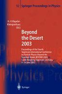 Beyond the Desert 2003