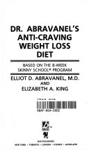 Dr  Abravanel s Anti Craving Weight Loss Diet