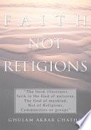 Faith Not Religions