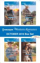 Harlequin Western Romance October 2016 Box Set
