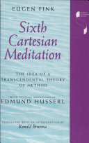 Pdf Sixth Cartesian Meditation Telecharger