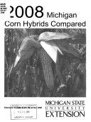 Corn Hybrids Compared  1964  Book