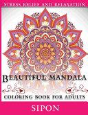 Beautiful Mandala Coloring Book For Adults