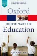 Pdf A Dictionary of Education Telecharger
