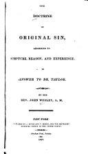 Pdf The Doctrine of Original Sin
