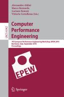 Computer Performance Engineering