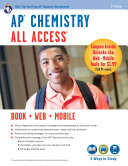 AP Chemistry All Access Book   Online   Mobile